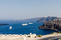 Crater rim - view from Athinios port - Santorini - Greece - 04.jpg