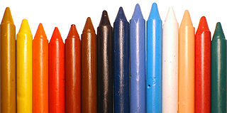 Crayon drawing implement