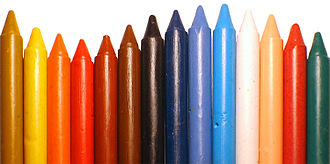 Crayon - A selection of colorful crayons.