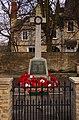 Cricklade War Memorial on High Street - geograph.org.uk - 1776006.jpg