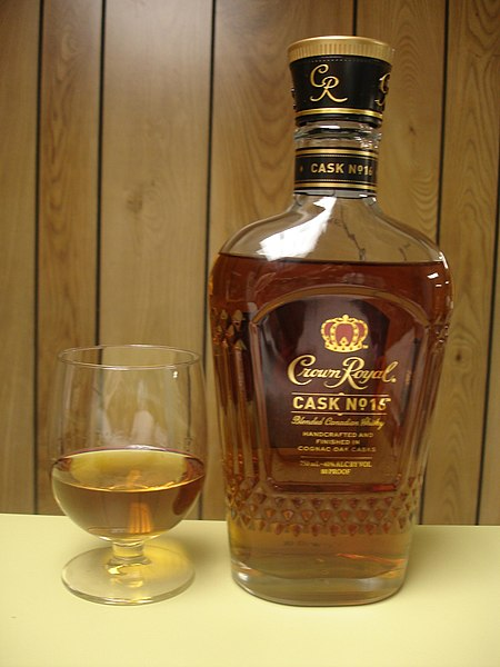 File:Crown Royal Cask No. 16 whiskey.jpg