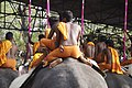 Cruelty to elephants at thrissur pooram.JPG