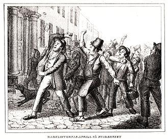 1838 in Sweden - Rabulist riots.