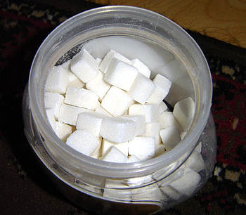 Cuboid sugar