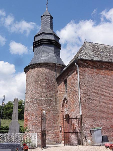 Cuiry-lès-Iviers (Aisne) Église Saint-Martin