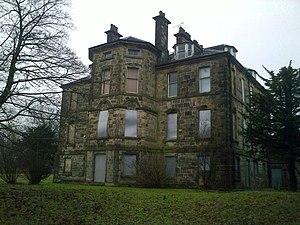 Cumbernauld House - Cumbernauld House, garden front