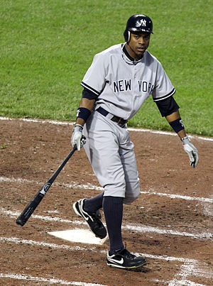 Curtis Granderson - Granderson hit 41 home runs in 2011.