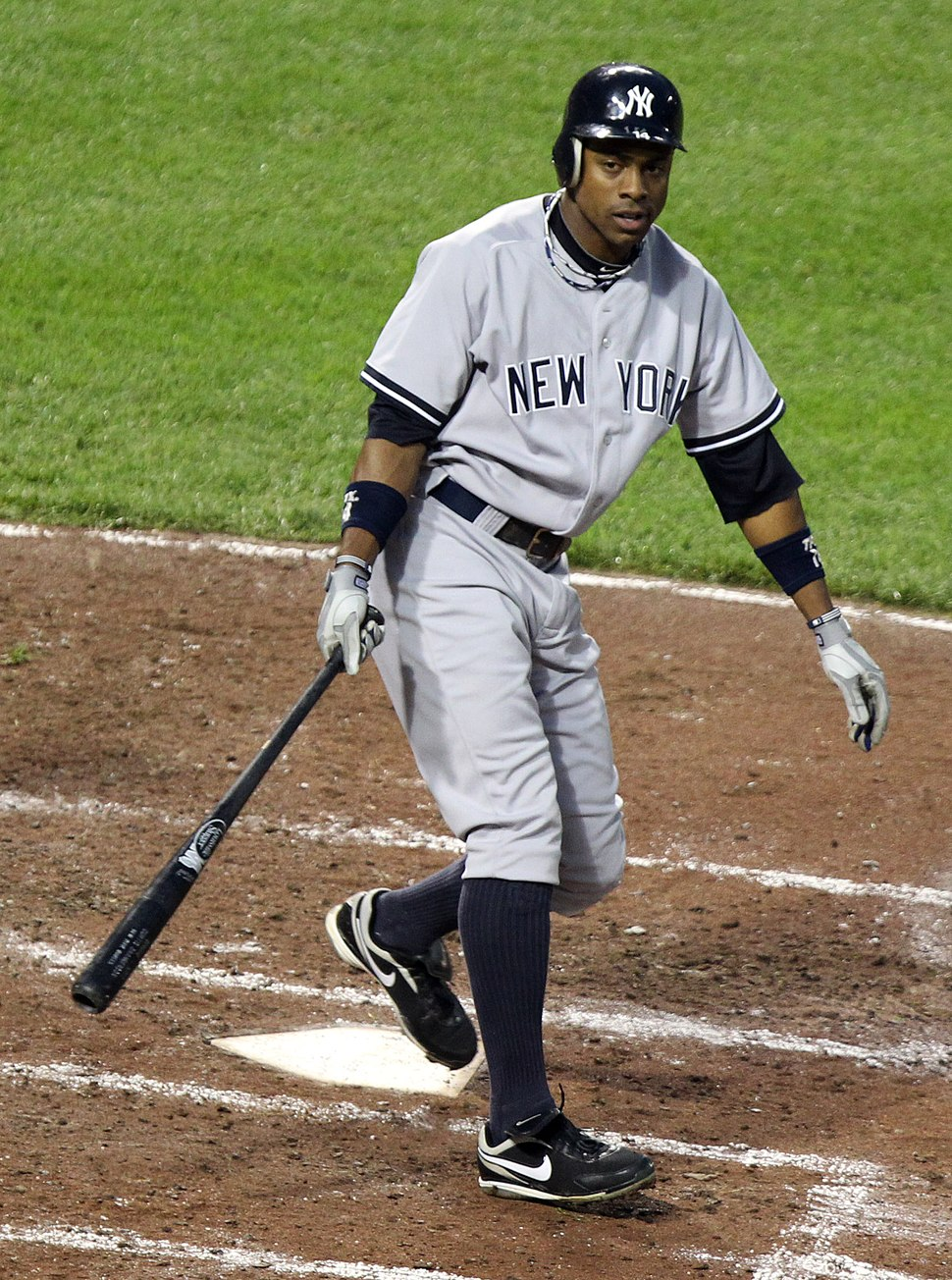 Curtis Granderson at bat 2011