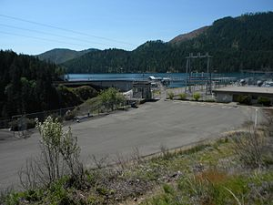 National Register of Historic Places listings in Mason County, Washington - Image: Cushman Hydroelectric Project HD NRHP 14001244 Mason County, WA