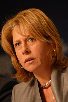 Anglo American CEO Cynthia Carroll.  Source: World Economic Forum via Wikipedia (which is in no way associated with this campaign)