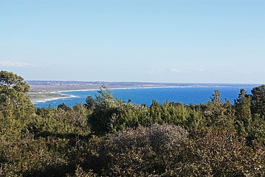 Cyprus south coast from the Sanctuary of Apollo Hylates 3.jpg