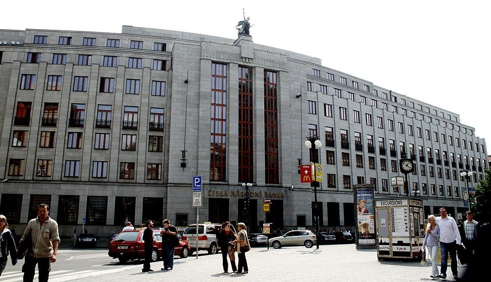 Czech National Bank in Prague CZ 01