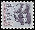 DBP 1982 1147 James Franck und Max Born.jpg