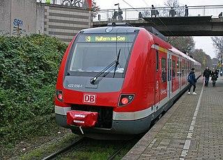 Gelsenkirchen-Buer Nord–Marl Lippe railway German railway line