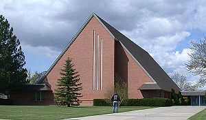 Campion, Colorado - Church on the campus of Campion Academy