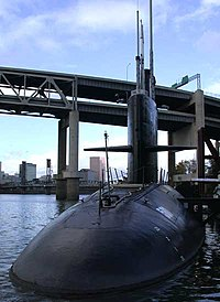 موسوعة غواصات البحرية الامريكية بعد الحرب العالمية الثانية بالكامل 200px-DSCN6760_ussblueback_e