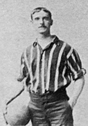 David Lloyd (footballer, born 1872) - Lloyd while with Brentford in 1898