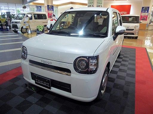 """Daihatsu Mira TOCOT G""""SA III"""" (DBA-LA550S-GBVF) front"""