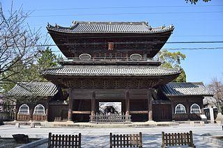Buddhist temple located in Okazaki, Aichi, Japan