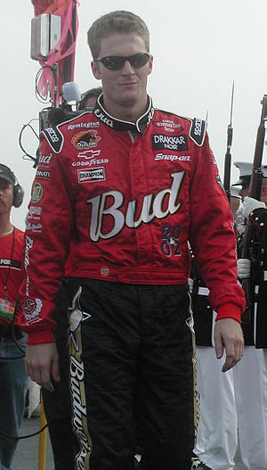 Dale Earnhardt Jr. - Earnhardt at the Pepsi 400 in 2002
