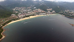 Yantian District - Image: Dameisha viewed from the sea 300meters high