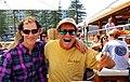 Dan Tito Davis and Daniel Krause dining Sydney, Australia.jpg