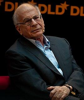 Daniel Kahneman Israeli-American psychologist