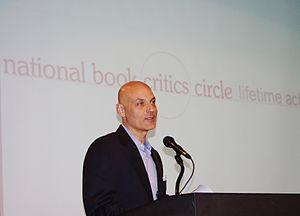 Daniel Mendelsohn - Daniel Mendelsohn introducing Robert B. Silvers at the 2011 National Book Critics Circle Awards Ceremony