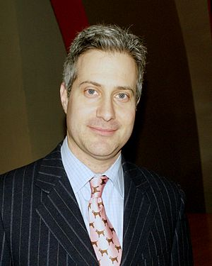Darin Strauss - Strauss before the 2010 National Book Critics Circle awards; his Half a Life won in autobiography