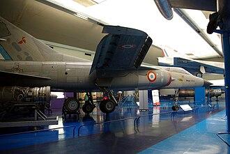 Dassault Mirage G - G8-01 is on public display at the Musée de l'Air et de l'Espace