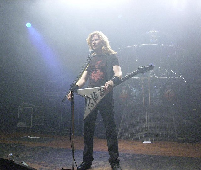 Dave Mustaine Live Megadeth