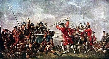 Battle of Culloden, David Morier
