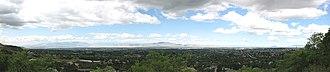 Davis County, Utah - Image: Davis County Panorama