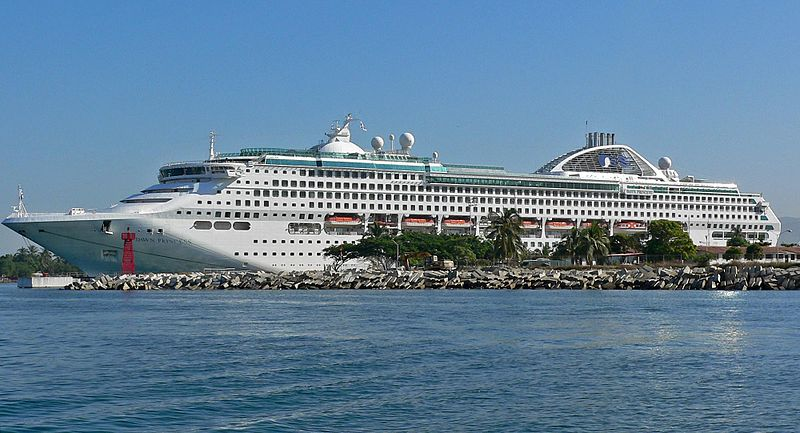 File:Dawn Princess at Puerto Vallarta 1.jpg