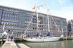De URANIA voor de wal bij Sail Amsterdam 2015 (01).JPG