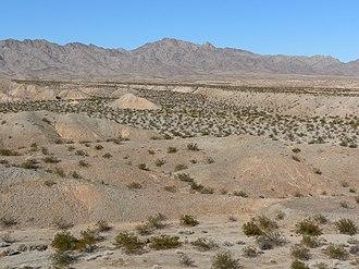 Piute Wash - Image: Dead Mountains wash 2