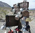 Death Valley NP - Teakettle Junction - closeup.JPG