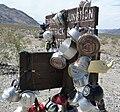 Death Valley NP - Teakettle Junction - closeup.JPG