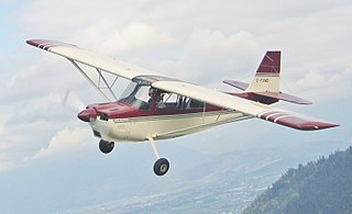 American Champion Decathlon Two-seat fixed conventional gear aerobatic light airplane