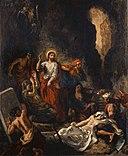 Delacroix - La résurrection de Lazare, 1850.jpg