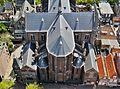 Delft Blick von der Nieuwe Kerk auf die Maria-van-Jessekerk 12.jpg
