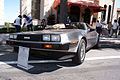 Delorean DMC-12 1983 LFront Lake Mirror Cassic 16Oct2010 (14815341029).jpg