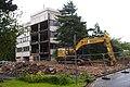 Demolition of HIV research centre (28303053584).jpg