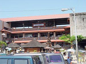 Denpasar - Badung Market in Denpasar.