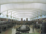 Denver International Airport terminal