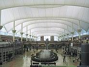 Denver International Airport terminal