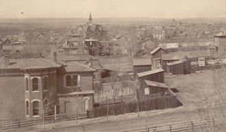 Five Points, Denver - Five Points district c. 1885