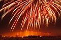 Derawar Fort at night with fireworks.jpg