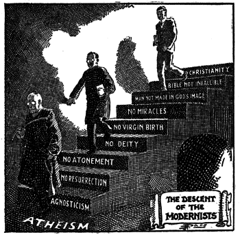 """The Descent of the Modernists"", by ..."