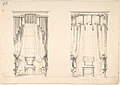 Design for Two Tasseled Curtains, Shown with Chairs MET DP807408.jpg